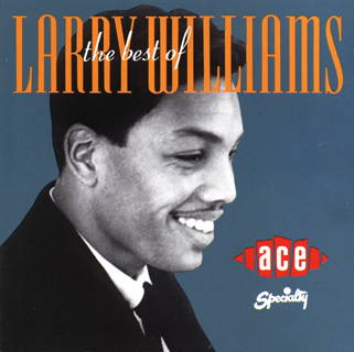 The Best of Larry Williams: CD cover